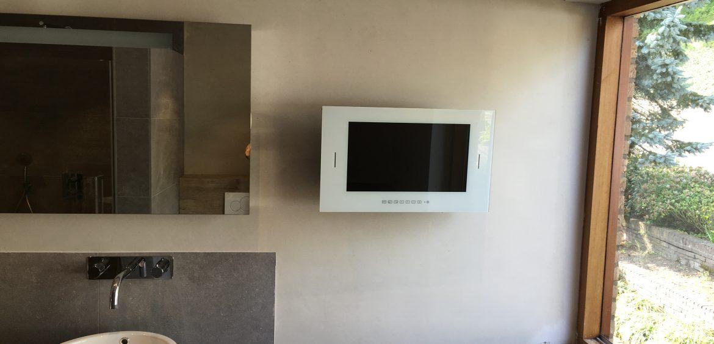 Badkamer met Stucwerk - Lodewijks Installaties